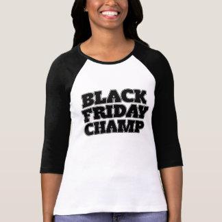 Black Friday Champ T-shirt