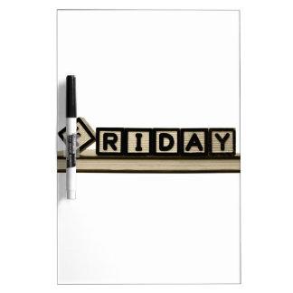 Black Friday Dry Erase Board