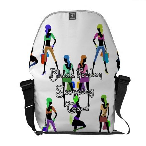Black Friday Glamour Girls Commuter Bags