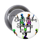 Black Friday Glamour Girls Pinback Buttons