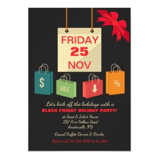 Black Friday Party Invitation
