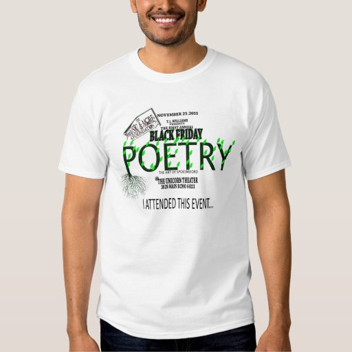 BLACK FRIDAY POETRY 1 T-Shirt