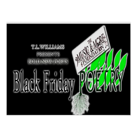 BLACK FRIDAY POETRY poster