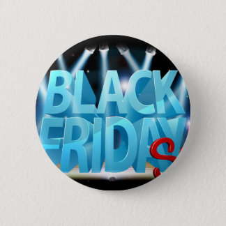 Black Friday Sale Stage Sign Button
