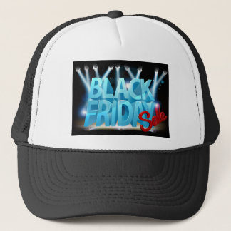 Black Friday Sale Stage Sign Trucker Hat