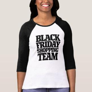 Black Friday shopping team T Shirts