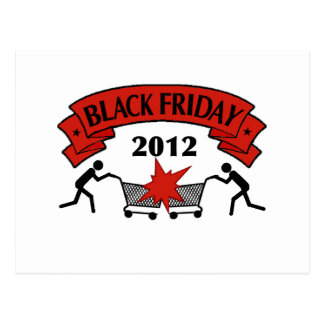 Black Friday Style 2012 Postcard