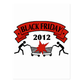 Black Friday Style 2012 Postcard
