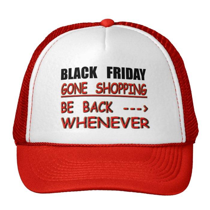 black friday trucker hat