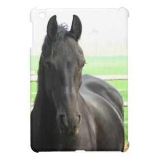 Black Friesian Horse iPad Mini Covers