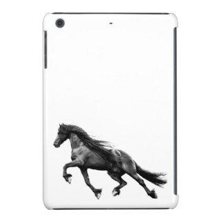 Black friesian stallion - friese horse case iPad mini case