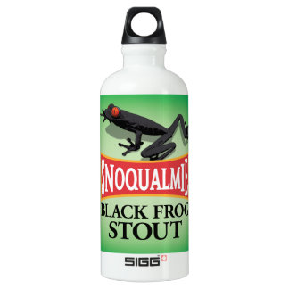 Black Frog Stout Aluminum Water Bottle