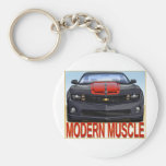 BLACK_FRONT_CAMARO.png Key Chain