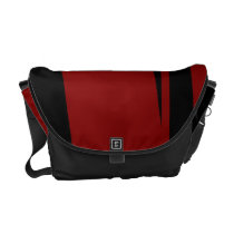 Black Garnet Devour I Messenger Bag
