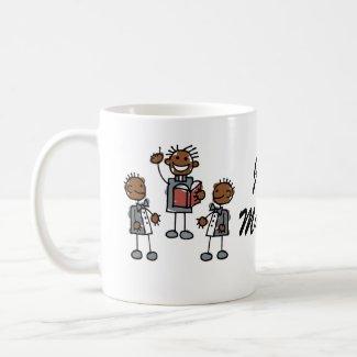 Black Gay Couple with Preacher mug