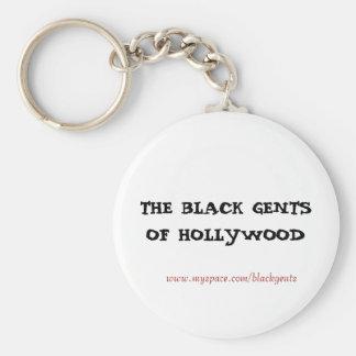 Black gents ( key chain) keychain
