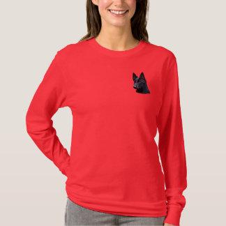Black German Shepherd Dog T-Shirt