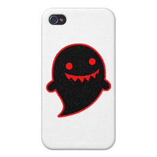 Black Ghost iPhone 4 Covers