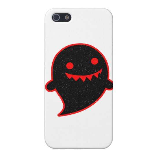 Black Ghost iPhone SE/5/5s Cover