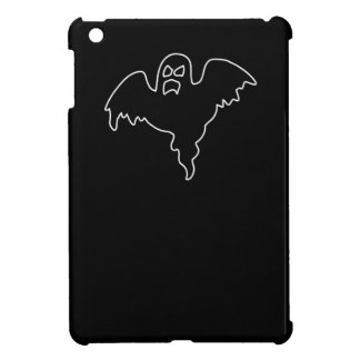 Black Ghost spooky image Cover For The iPad Mini