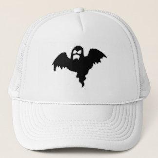Black Ghost spooky image Trucker Hat