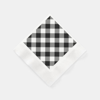 black and white checkered paper napkins Bbj's table linen rentals are perfect for a variety of events from casual to formal browse our luxury tablecloth inventory online or visit our showrooms.
