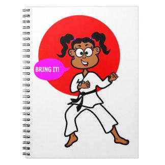 Black Girl Karate Master Journal