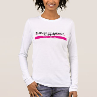 Black Girl Nerds Long Sleeve Tee