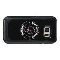 Black Girl Pink Ribbon Breast Cancer, Black Women OtterBox Samsung Galaxy S7 Case