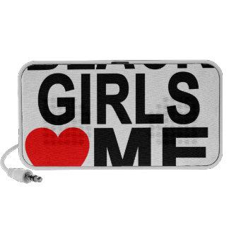 BLACK GIRLS LOVE ME T-Shirts.png Speaker
