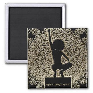 Black Girls Rock! 2 Inch Square Magnet
