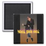 Black Girls Rock 2 Inch Square Magnet