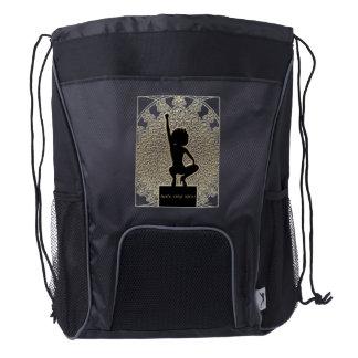 Black Girls Rock! Drawstring Backpack