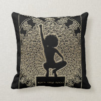 Black Girls Rock! Throw Pillow