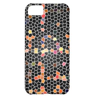 Black Glass Mosaic iPhone 5C Case