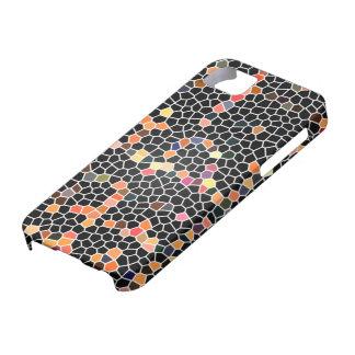Black Glass Mosaic iPhone SE/5/5s Case