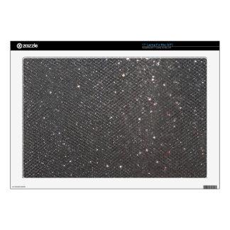 "Black Glitter 17"" Laptop Decal"