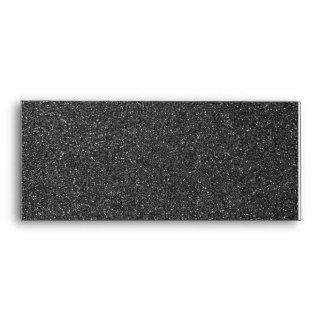 Black Glitter Envelope
