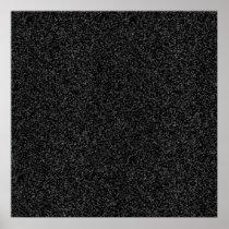 Black Glitter Gift Wrap Poster
