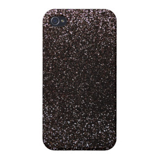 Black glitter iPhone 4/4S covers