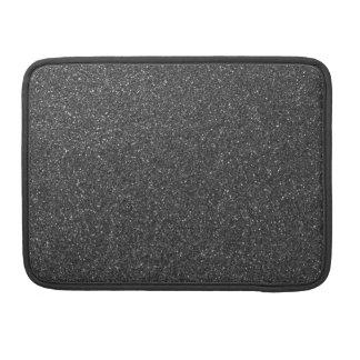 Black Glitter MacBook Pro Sleeve