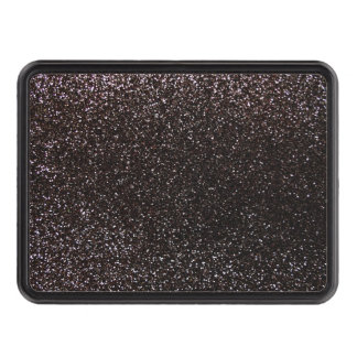 Black glitter tow hitch covers