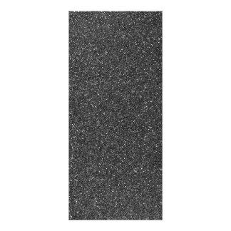 Black Glitter Custom Rack Cards