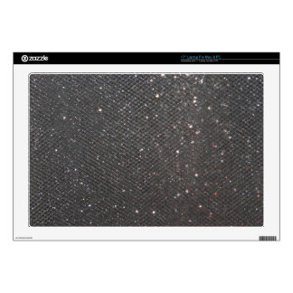 "Black Glitter Decal For 17"" Laptop"