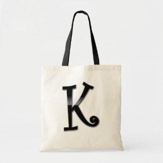 Black Gloss Monogram - K Bag