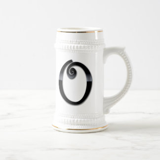 Black Gloss Monogram - O Mugs