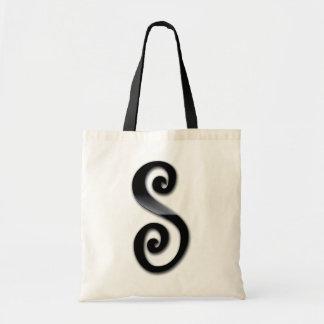 Black Gloss Monogram - S Budget Tote Bag