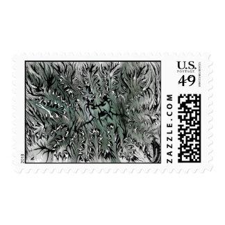 Black glove by rafi talby postage stamp