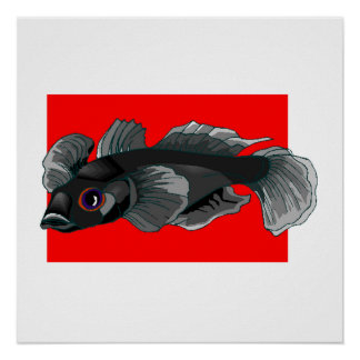 Black Goby Poster