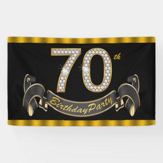 70th Birthday Custom Banners & Signs | Zazzle